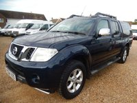 2014 NISSAN NAVARA 2.5 DCI TEKNA 4X4 DOUBLECAB PICK UP 54567 MILES ONLY £13995.00