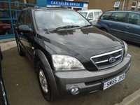 2005 KIA SORENTO 2.5 XS CRDI 5d 139 BHP £4000.00