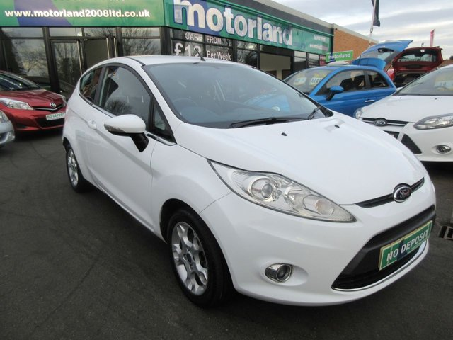 USED 2012 62 FORD FIESTA 1.2 ZETEC 3d 81 BHP JUST ARRIVED
