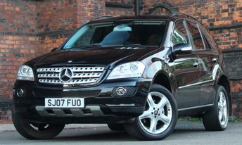 2007 MERCEDES-BENZ M CLASS 3.0 ML280 CDI EDITION S 5d AUTO 188 BHP £SOLD