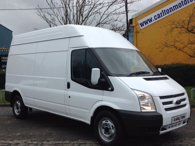 2014 14 FORD TRANSIT T350 LWB High Roof panel Van Rwd Ex lease Free UK Delivery