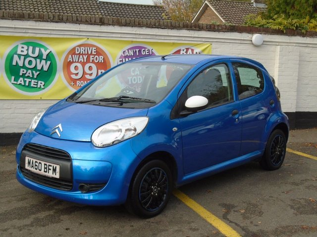 2010 60 CITROEN C1 1.0 SPLASH 5d 68 BHP