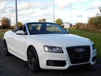 2011 AUDI A5 2.0 TDI S LINE 2d 168 BHP £14990.00