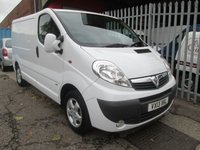 2013 VAUXHALL VIVARO 2.0 CDTi SPORTIVE 2900 SWB 113PS *AIR CON* £SOLD