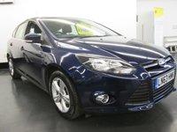 2013 FORD FOCUS 1.6 ZETEC 5d AUTO 124 BHP £8995.00