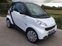 2008 SMART FORTWO 1.0 PURE MHD 2d AUTO 61 BHP £SOLD