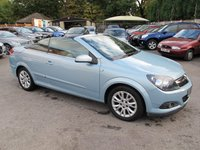 2009 VAUXHALL ASTRA 1.8 TWIN TOP SPORT CONVERTIBLE  Super Low Miles  £3999.00