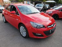 2015 VAUXHALL ASTRA 1.6 EXCITE 5d 1/2 leather , cruise , btooth ,  £8999.00