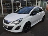 2013 VAUXHALL CORSA 1.2 LIMITED EDITION 3 DOOR £5999.00