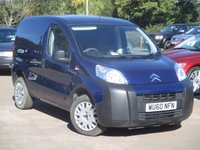 2010 CITROEN NEMO 1.4 610 ENTERPRISE HDI 1d 68 BHP £3995.00