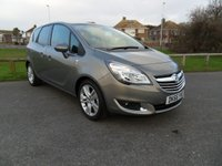 USED 2016 66 VAUXHALL MERIVA 1.4 Turbo SE 118 BHP ONLY 260 MILES PHONE CONNECTION