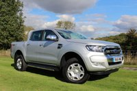 USED 2016 16 FORD RANGER 2.2 LIMITED 4X4 DCB TDCI 1d AUTO 158 BHP Full Leather Upholstery, Satellite Navigation, Automatic, Only 2,800 Miles!