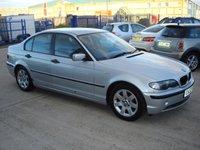 2002 BMW 3 SERIES 2.0 320D SE 4d 148 BHP £1750.00
