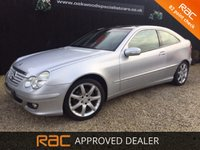 USED 2004 54 MERCEDES-BENZ C CLASS 1.8 C180 KOMPRESSOR SE SPORTS 3d AUTO 141 BHP PANORAMIC SUNROOF