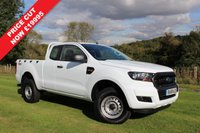 USED 2016 16 FORD RANGER 2.2 XL 4X4 DCB TDCI 1d 158 BHP As New, Super Cab, Air Conditioning, Finance Arranged,  Only 100 Miles!