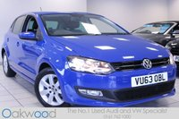 2013 VOLKSWAGEN POLO 1.2 60 BHP MATCH EDITION 5d £6985.00
