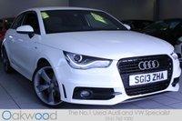 2013 AUDI A1 2.0 TDI 143 BHP S LINE BLACK EDITION 3d £11485.00