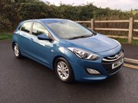 2013 HYUNDAI I30 1.6 ACTIVE BLUE DRIVE CRDI 5d 109 BHP £8990.00