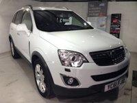 2011 VAUXHALL ANTARA 2.2 SE CDTI 5d 4WD Stunning in White £10000.00