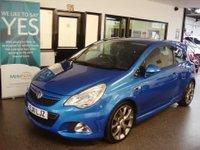 2011 VAUXHALL CORSA 1.6 VXR BLUE EDITION 3d 189 BHP £7495.00