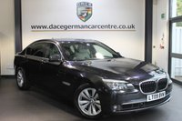 USED 2009 09 BMW 7 SERIES 4.4 750Li LWB  4DR AUTO 403 BHP + FULL BMW SERVICE HISTORY + 1 OWNER FROM NEW + SATELLITE NAVIGATION + FULL CREAM LEATHER INTERIOR +