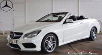 2013 MERCEDES-BENZ E CLASS E220CDi AMG SPORT CONVERTIBLE AUTO 170 BHP £SOLD