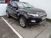 2012 LAND ROVER RANGE ROVER EVOQUE 2.2 SD4 PRESTIGE 5d AUTO 190 BHP £23975.00