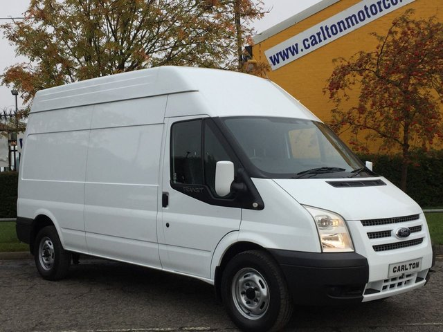 2013 13 FORD TRANSIT T350L High Roof panel van 2.2Tdci Rwd Ex Lease Free UK Delivery MANAGERS SPECIAL
