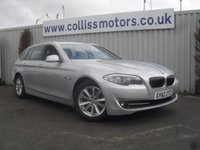 2012 BMW 5 SERIES 2.0 520D SE TOURING 5d AUTO 181 BHP £15499.00
