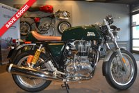 USED 2017 ROYAL ENFIELD CONTINENTAL GT GREEN SAVE £500