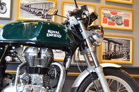 USED 2017 ROYAL ENFIELD CONTINENTAL GT GREEN