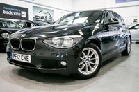 2012 BMW 1 SERIES 1.6 116D EFFICIENTDYNAMICS 5d [FREE TAX+B/TOOTH+ALLOYS] £8950.00