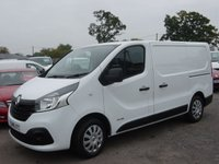 2015 RENAULT TRAFIC 1.6 SL27 BUSINESS PLUS DCI S/R P/V 1d 115 BHP AIR CON COLOUR CODED BUMPERS £10995.00