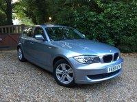 2010 BMW 1 SERIES 2.0 116I ES 5d AUTO 121 BHP £7489.00