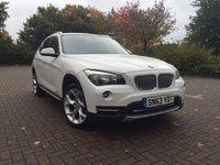 2013 BMW X1 2.0 XDRIVE18D XLINE 5d 141 BHP £15495.00