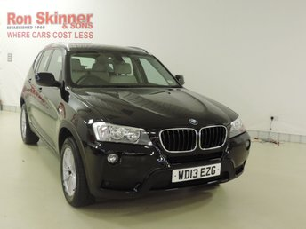 2013 BMW X3 2.0 XDRIVE20D SE 5d 181 BHP £18999.00
