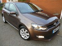 USED 2013 63 VOLKSWAGEN POLO 1.4 MATCH EDITION 5d 83 BHP Rare Colour, Cruise & Bluetooth Bluetooth & Cruise Controll