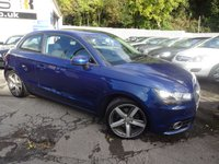 USED 2011 60 AUDI A1 1.4 TFSI SPORT 3d 122 BHP 5-Arm Design Bi-Colour Alloy Wheels NATIONALLY PRICE CHECKED DAILY