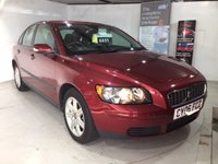 2006 VOLVO S40 1.8 S 4d 125 BHP in Pearl Ruby Red Metallic £4500.00
