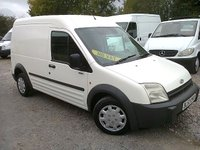 2003 FORD TRANSIT CONNECT T220 75PS LWB H/ROOF £1495.00