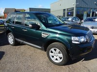 USED 2013 63 LAND ROVER FREELANDER 2.2 TD4 GS 5d 150 BHP LOW COST FINANCE OPTIONS