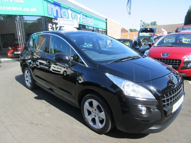 USED 2011 11 PEUGEOT 3008 1.6 SPORT HDI 5d 112 BHP CALL 01543 379066... 12 MONTHS MOT... 6 MONTHS WARRANTY... DIESEL.. MPV... FINANCE AVAILABLE