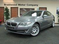 2011 BMW 5 SERIES 2.0 520D EFFICIENTDYNAMICS 4d 181 BHP £11975.00
