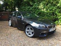 2012 BMW 5 SERIES 2.0 520D M SPORT TOURING 5d AUTO 181 BHP £18489.00