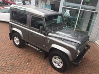 2008 LAND ROVER DEFENDER 90 2.4 90 COUNTY STATION WAGON 122 BHP £18000.00