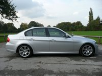 2011 BMW 3 SERIES 2.0 320D M SPORT 4d AUTO 181 BHP £9995.00