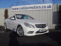 2013 MERCEDES-BENZ E CLASS 2.1 E220 CDI BLUEEFFICIENCY SPORT 2d AUTO 170 BHP £22999.00