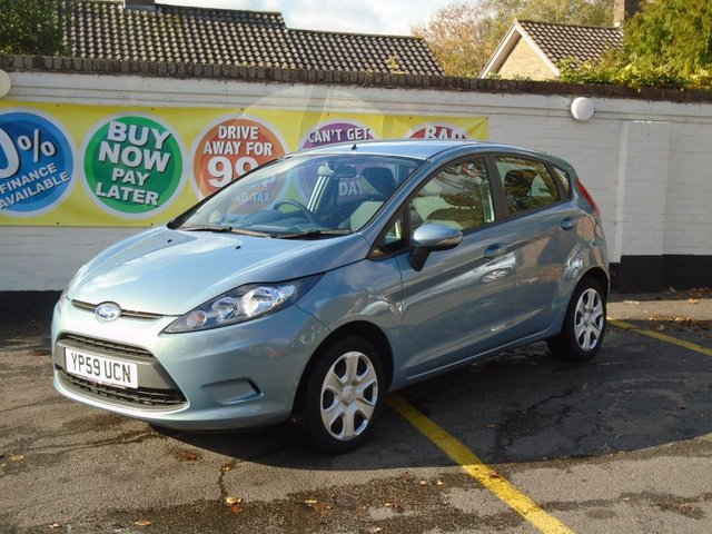 2010 59 FORD FIESTA 1.2 EDGE 5d 81 BHP