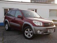 2004 TOYOTA RAV4 2.0 XT3 VVT-I 5d 147 BHP £3795.00