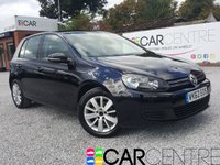 2012 VOLKSWAGEN GOLF 1.6 MATCH TDI BLUEMOTION TECHNOLOGY 5d 103 BHP £7495.00
